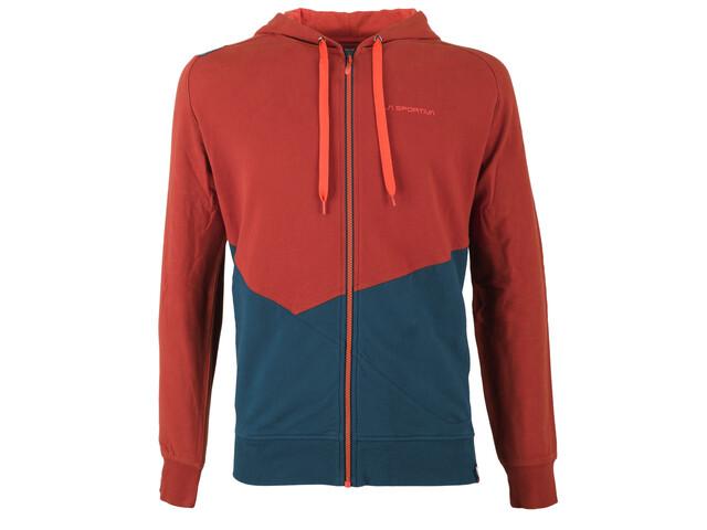La Sportiva Rocklands sweater Heren rood/blauw
